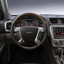 GMC Upgrades Acadia for 2013 with Revised Front
