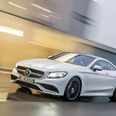 Mercedes S63 AMG Coupé was developed to compete with the Bentley Continental GT and the Aston Martin Rapide