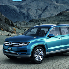 Volkswagen showed the Crossblue concept as larger, cheaper SUV