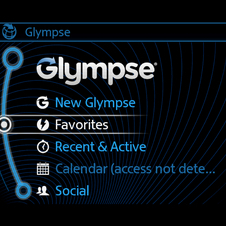 Glympse allows friends to see where you are in real time