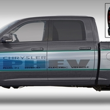 Chrysler Produces Fleet of Experimental Plug-in Electric Ram Pickups