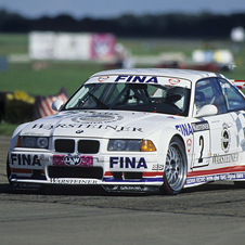The E36-chassis M3 came in 1992 with 325hp and competed in the DTM and ADAC GT Cup