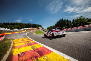 Nissan's GT Academy team took third in the ProAm class