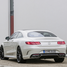 The new S63 AMG Coupé reaches the market in September