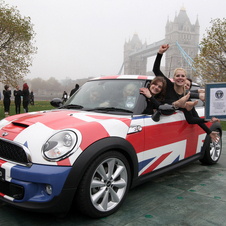 Largest number of people in a MINI