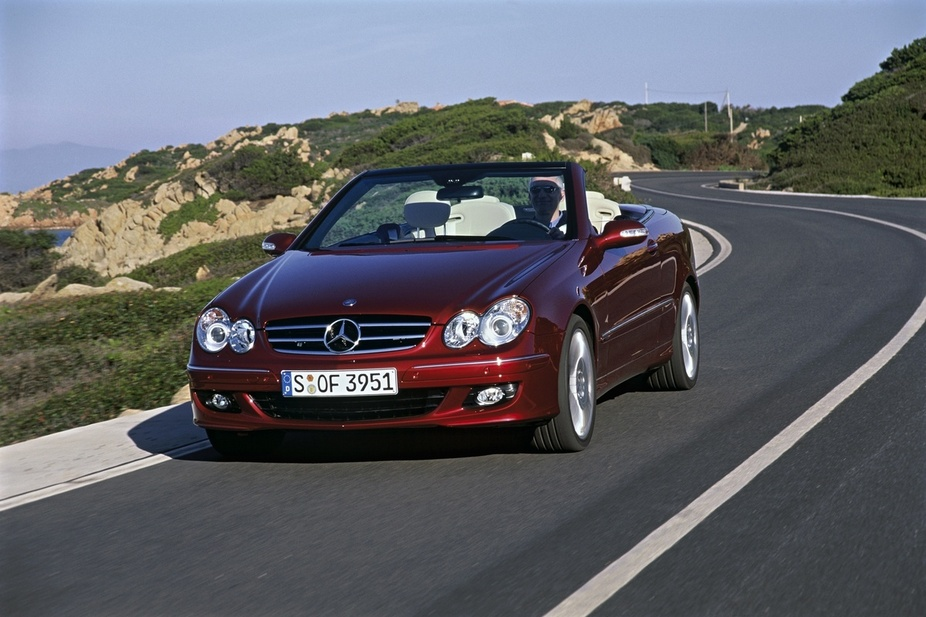 Mercedes-Benz CLK 320 CDI Automatic