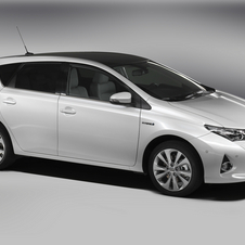 The Auris Hybrid won out among the voters