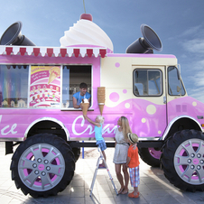 The N-ICE is a 21ft-tall ice cream truck that will be touring the UK