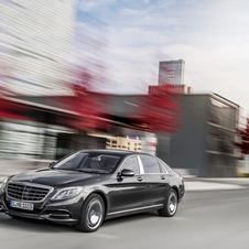 The Mercedes-Maybach S-Class is an extra-long variant of the Mercedes S-Class