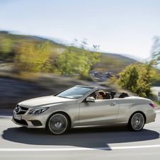 The convertible version will follow the E-Class Convertible with no B-pillar and a soft top