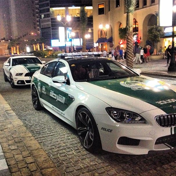 The Dubai Police have quite a collection