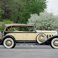 Pierce-Arrow Model 133 Tonneau Cowl Phaeton