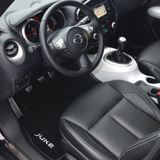 Nissan Juke Shiro Tops Line in Europe with Better Interior