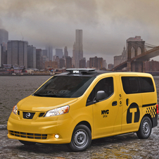 Nissan NV200 is the New Taxi for New York City