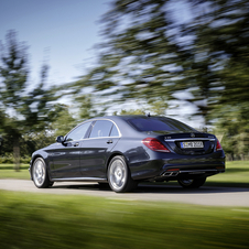 The car is the ultimate expression of the current S-Class so far