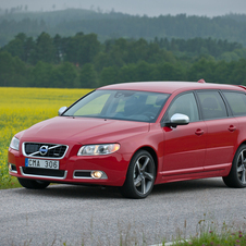 Volvo V70 T4 R-Design Powershift Geartronic