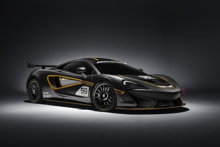 The 570S GT4 is a track car that can be homologated for several world GT categories