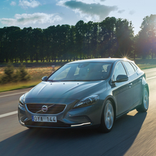 The new V40 has also proved to be quite popular