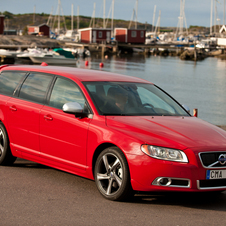 Volvo V70 T4F R-Design Powershift Geartronic