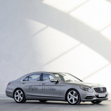 Mercedes is aiming for continuous CO2 emissions reductions