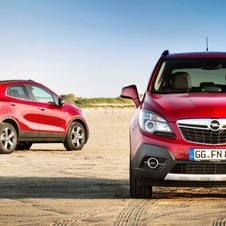 The Mokka was launched this year as the brand's sub-compact SUV