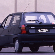 Citroën AX Air France Madame