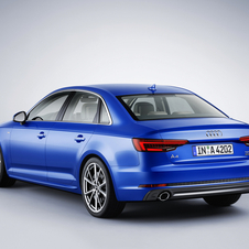 The new A4 is slightly larger than the previous generation