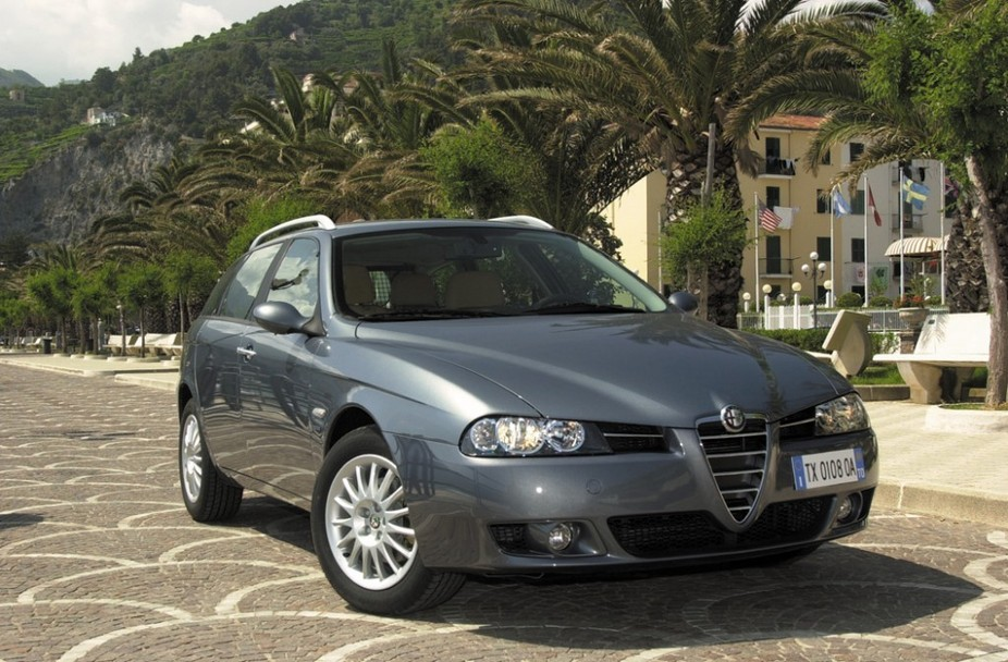 Alfa Romeo 156 Sportwagon 2.5 V6 24v Q-System :: 1 photo and 74 specs ...