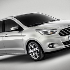 The Ka Concept miniaturizes Ford's hatchback design