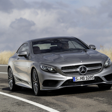 The S-Class Coupé will replace the CL-Class in Mercedes' range