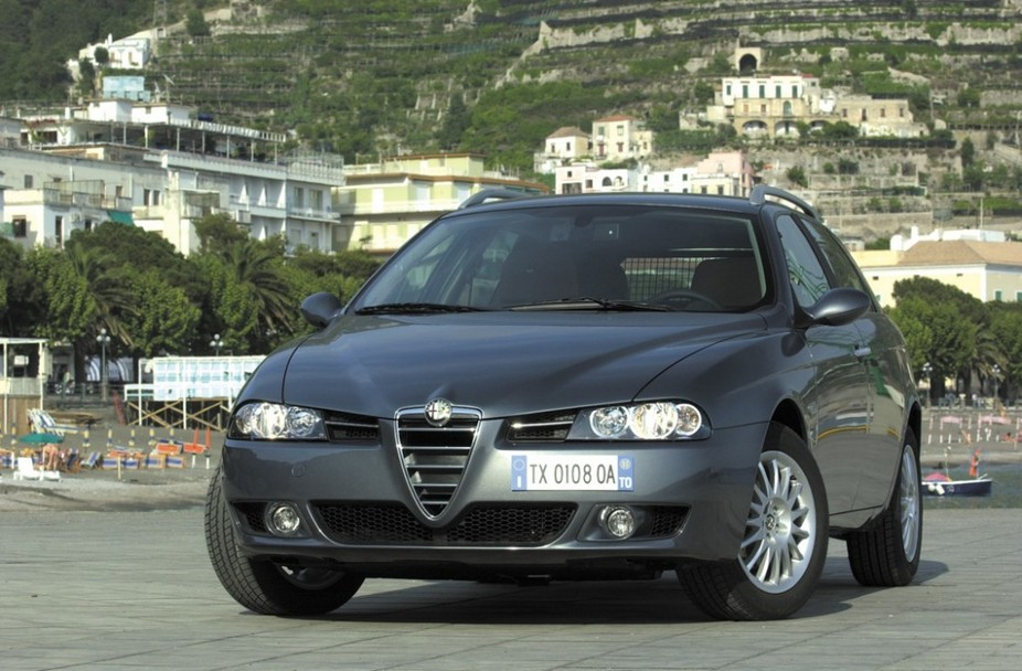 alfa romeo 156 sportwagon 2 5 v6 24v 1 photo and 74 specs. Black Bedroom Furniture Sets. Home Design Ideas