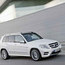 The GLK is especially popular in the US