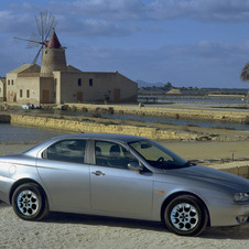 Alfa Romeo 156 2.0 JTS Selespeed Exclusive