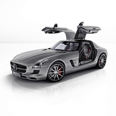 The SLS AMG GT is available as a coupe and roadster
