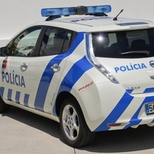 They are the first police force to buy the zero-emissions vehicles