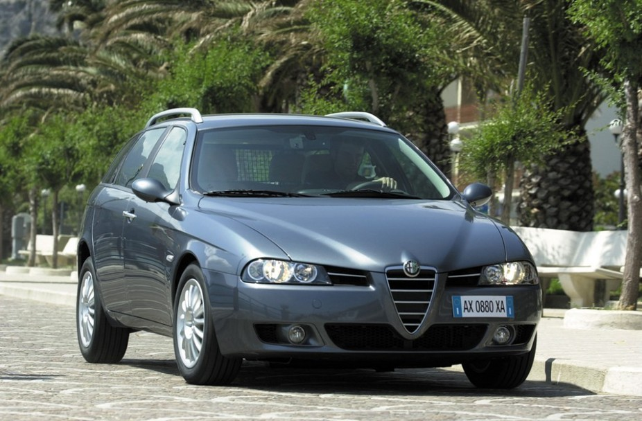 Alfa Romeo 156 1.9 JTD Sportwagon Multijet :: 2 photos and 75 specs ...