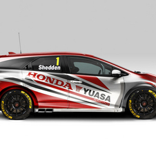 O Civic Tourer vai competir na próxima temporada do BTCC