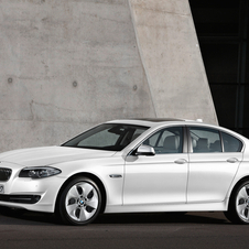 2012 5 Series Gets Updated Engines in Europe