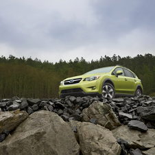 The XV Crosstrek Hybrid will go on sale in the fourth quarter