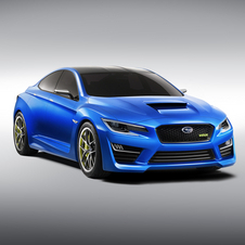 The new WRX Concept barely looks like the Impreza that it is based on