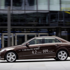 Mercedes-Benz Creates Range of Hybrid E-Classes