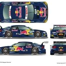 Audi Reveals 2012 A5 DTM Liveries from Red Bull, Playboy, Autotest and More