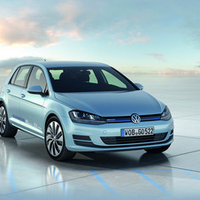 Volkswagen presents Golf BlueMotion Concept for Golf VII