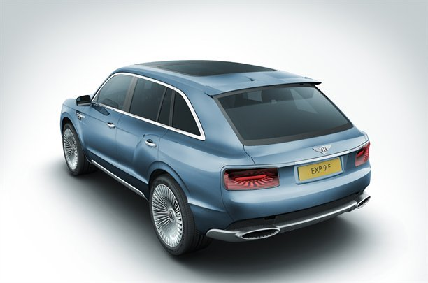 Bentley SUV - Ghastly but necessary?