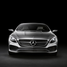 A large Mercedes star greats you at the front