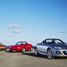 Mazda feiert in Goodwood den MX-5