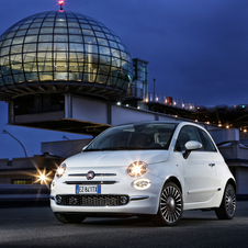 The most visible change is the new front of the Fiat 500