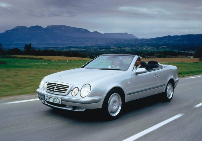 mercedes benz clk 230 kompressor cabriolet photo. Black Bedroom Furniture Sets. Home Design Ideas