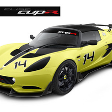 The car is built for racing in the Lotus Cup series around the world