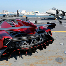 They have a top speed of 220.6mph (355km/h)